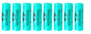 8x MARINE MAGIC - KOTFLÜGEL® Hundekotbeutel